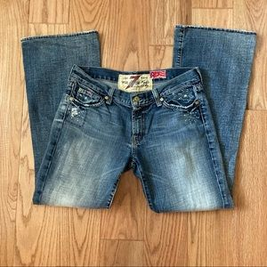 7 for all Mandkind Great Wall Of China Wall Jeans